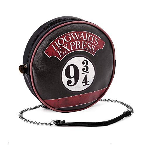 Karactermania Harry Potter Express Bolso Bandolera, 19 cm, Negro