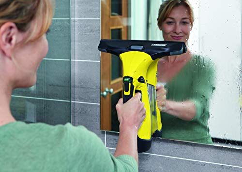 Kärcher Window Vac WV5 Premium incl. Accessories, Window cleaner for Windows, Tiles, Shower & Cabinets and Exchangeable Battery