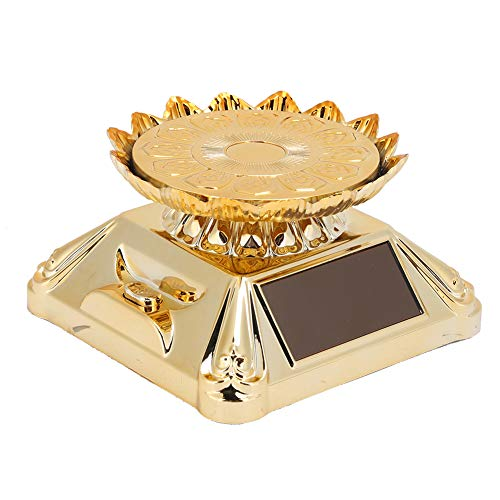 Jewelry Display Stand, 360 Degrees Rotating Jewelry Tray, Electric Display Exhibitions Retail Stores for Homes Offices