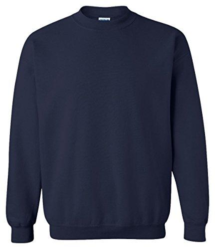 Gildan 18000 - Classic Fit Adult Crewneck Sweatshirt Heavy Blend - First Quality - Navy - X-Large