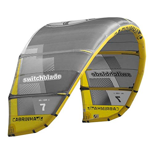 Cabrinha Switchblade Kite 2019-Grey/Yellow-10,0