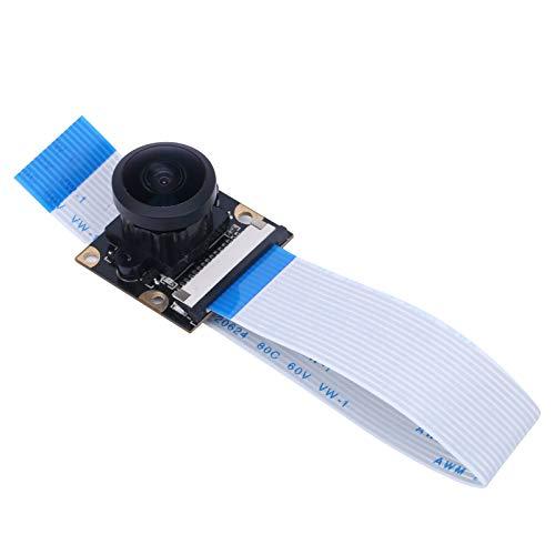 5MP Kamera Mini-Kameramodul 222 ° Feldwinkel Manuelles Fokusobjektiv Weitwinkelkamera Zubehör Für Raspberry Pi 4 Generation 3B +