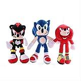 *siqiwl Peluix 28 Cm *Sonic *Plush *Toy *Pedant *Doll *Cute Cartoon *The *Hedgehog *Plush *Toy Animi *Game *Doll per a Nens Grans Regals