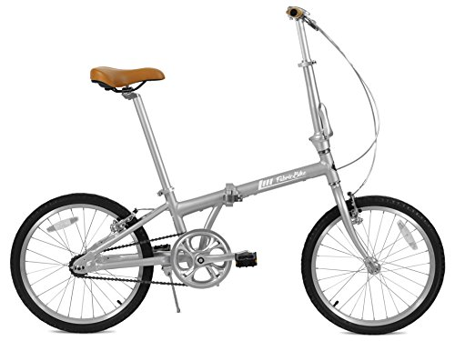 FabricBike Folding Bicicleta Plegable Cuadro Aluminio 3 Colores (Space Grey)