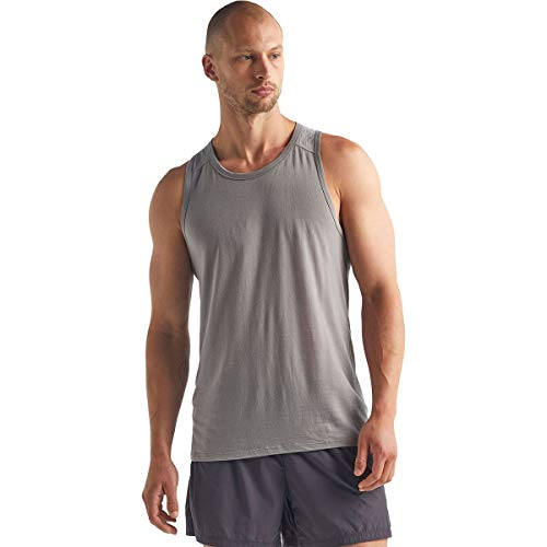 icebreaker Amplify - Camiseta de tirantes para hombre, talla XL