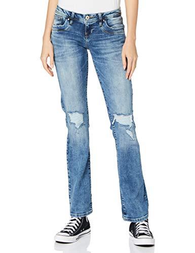 LTB Jeans Damen Valerie Jeans, Parwin Wash, 28/34