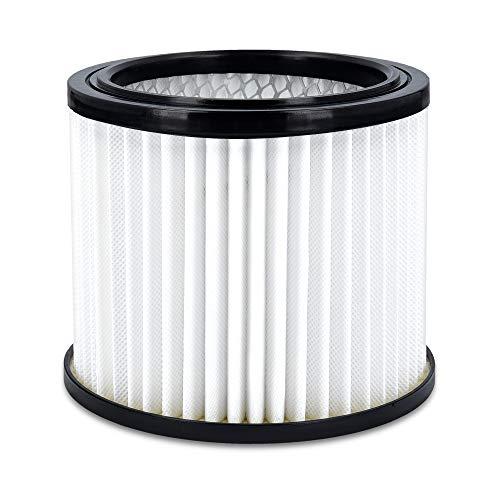 Navaris Asche Filter für Aschestaubsauger - HEPA Ersatzfilter für Aschesauger - Feinfilter für Kaminstaubsauger - Feinstaubfilter Kamin Sauger