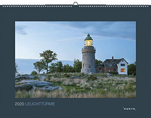 Leuchttürme 2020: Kalender 2020 (KUNTH Wandkalender Black Edition)