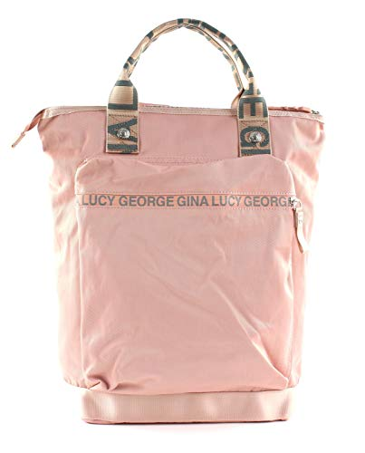 George Gina & Lucy Nylon Roots Solid Monokissed Rose