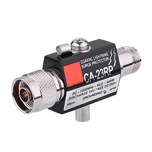 Hakeeta 400 W coaxiale overspanningsbeveiliging, bliksembeveiliging, zend-, ontvanger- en breedband-flitsbescherming (DC-2500 MHz).
