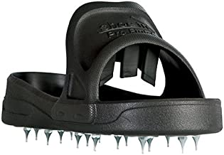 Midwest Rake Sharp Spiked Style Shoes for Resinous Coatings, with Replaceable Spikes Large (Various Sizes: M -XL)