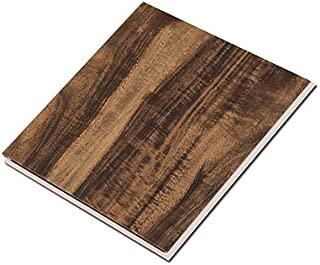 Cali Bamboo - Cali Vinyl Pro Commercial Vinyl Flooring, Extra Wide, Walnut Creek - Dark Hand Scraped Wood Grain - Sample Size 6