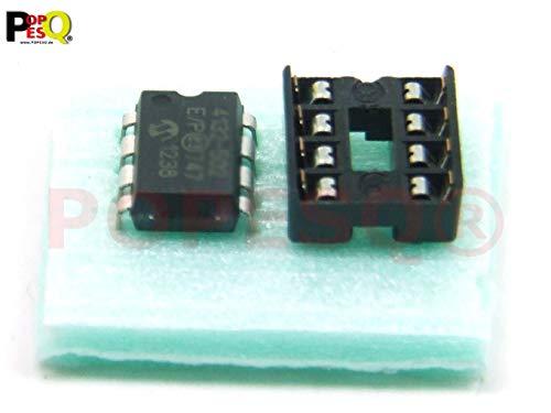 POPESQ® 1 Stk. x MCP4132-104 Digital Poti mit Sockel #A428