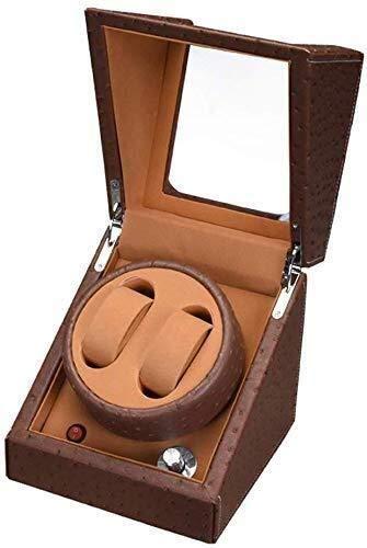 Cadeau-horlogebeweging, automatisch, 2 + 0 mechanische klok, voor het opbergen, turn, tafel, stil, automatische lift, motor met trekker (kleur: E), naam: E