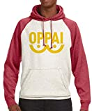 Clutch It Out Oppai Anime Logo Hoodie (Large)