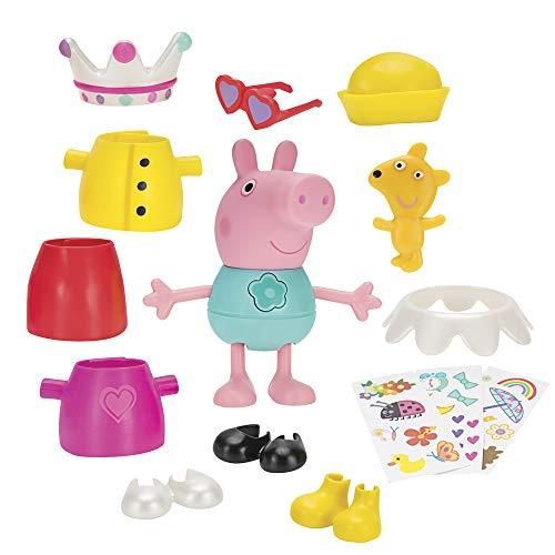 Peppa Pig- Vestidos Divertidos, Multicolor (Bandai JW96642)
