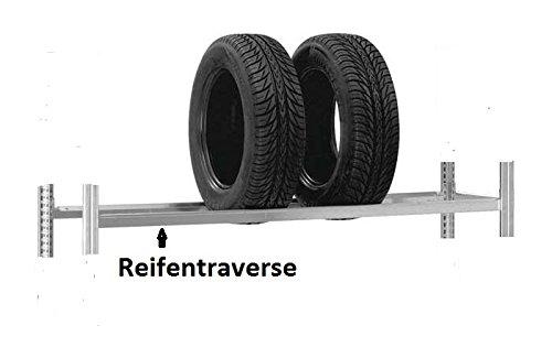 Reifen-/Felgentraversenpaar verzinkt, Länge: 1000 mm
