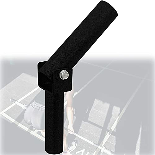 ZGHTD Barra En T para Remo con Poste Landmine, Accesorio Landmine de Acero Duradero con Giro de 360 Grados para Facilitar Su Uso En Espacios Pequeños, Ideal para Ejercicios de Espalda