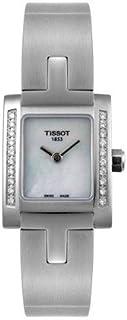Tissot - Reloj Analógico para Mujer de Cuarzo con Correa en Acero Inoxidable 7611608189436