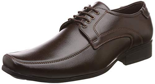Lancer Men's Brown Formal Shoes-7 UK/India (41 EU) (LD-111BRN-7)