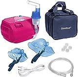 Omnibus BR-CN116B - Nuevo inhalador compresor Inhalador compacto para inhaladores bebe electrico dos enchufes UK EU (rosa)