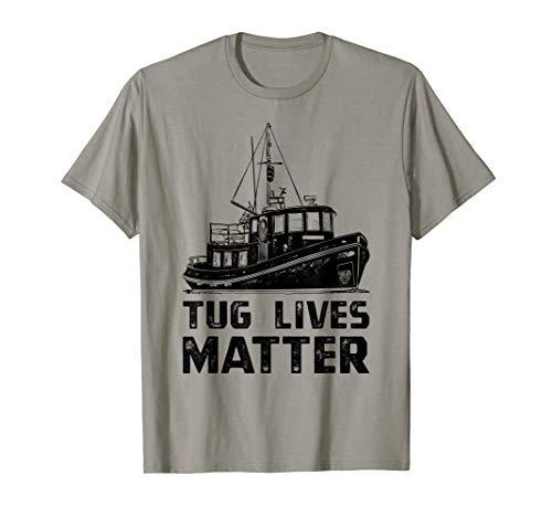 Funny Tugboat T-Shirt, Towboat Tug Matters Boat Tee Apparel