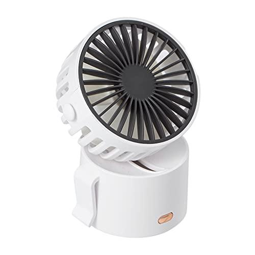Baoblaze Mini ventilador pessoal portátil de mão ventiladores de bolso para meninas meninos e mulheres viagens ao ar livre - Branco