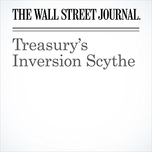 Treasury's Inversion Scythe cover art