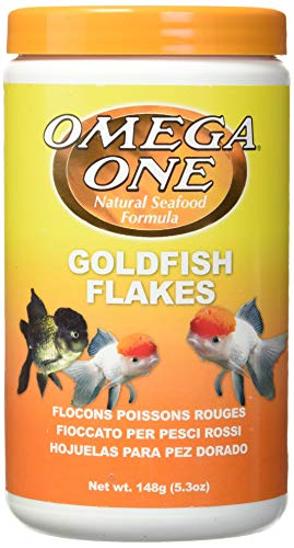 Omega One Goldfish Flakes 5.3 oz