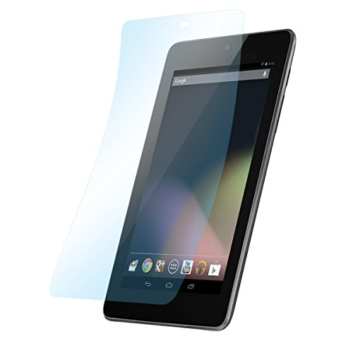 doupi Ultrathin Schutzfolie für Asus Google Nexus 7 (2012), matt entspielgelt optimiert Display Schutz (3X Folie in Packung)