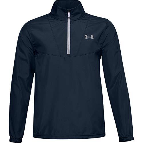 Under Armour Jungen Windstrike Golf 1/4 Zip Quarter Zip, Jungen, Windstrike Golf 1/4 Zip, Academy Blue (408)/Weiß, Jugend Small