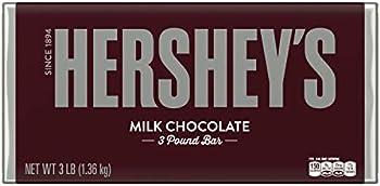 Hershey's Holiday Milk Chocolate Gift Candy Bar, 3 Pound