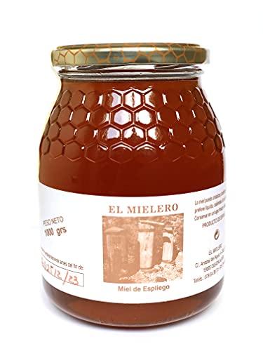 Miel de abeja Natural 1 KG - Origen La alcarria - España . Sabor Romero o Espliego . 100{aa5e1a8261d85e612fff32dbe429119135ce6554e16d16c3d3319698fd3d12f0} Calidad Española (Espliego)