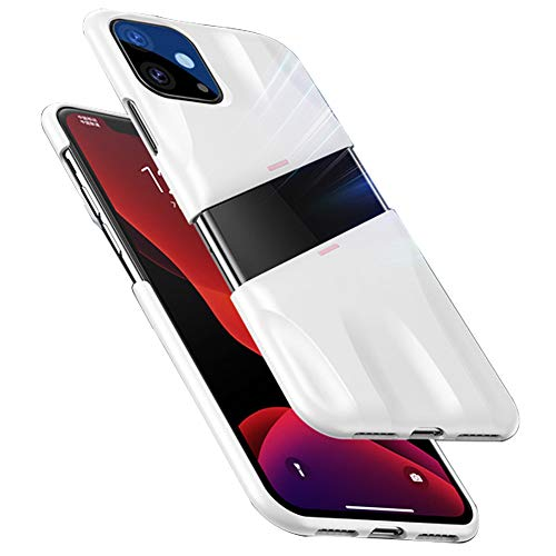 Yesun K geeignet für iPhone 11 Pro Max 11 Pro 11 Creative Graphene Air Cooling Protection Phone Case, Gaming Case, Mobile Game Hard Case iphone 11 Pro Max Weißes Pulver