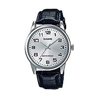 CASIO カシオ MTP-V001L-7B MTPV001L-7B ベーシック アナログ ブラック シルバー キッズ メンズウォッチ チープカシオ 腕時計 [並行輸入品]