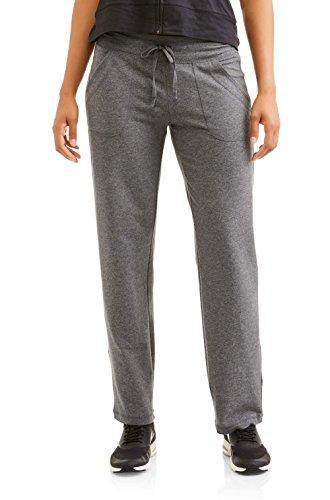 Athletic Works Damen Strickhose mit Taschen (Regular und Plus) - Grau - 36-38