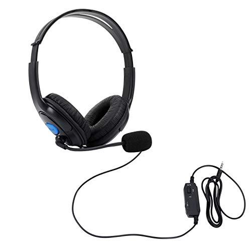 ARTIBETTER Fone de Ouvido para Jogos Com Fio Ps4 / Xbox-One / Pc Protetores de Ouvido Macios Som Surround sobre Fones de Ouvido para Telefones Laptop Computador Tablet