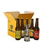 PACK DEGUSTACIÓN REGALO (5x33cl y 1 vaso) - CERVEZAS SIN ALCOHOL - 5 VARIEDADES DE CERVEZA MIKKELLER CON VASO INCLUÍDO