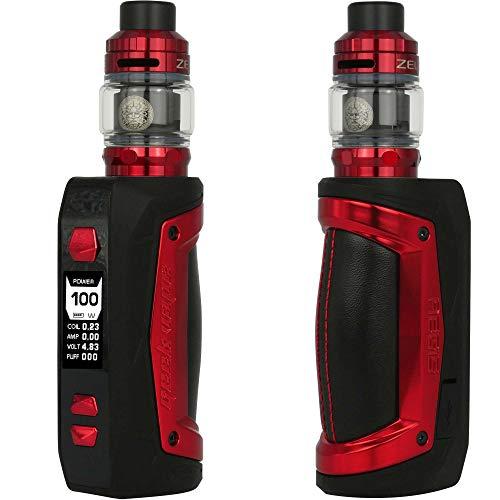 GeekVape Aegis Max Kit 100 W, mit Z Sub Ohm Tank 5 ml, Riccardo E-Zigarette, red phoenix