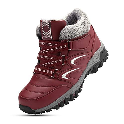 gracosy Chaussures de Sport Randonnée Hiver Femmes,...