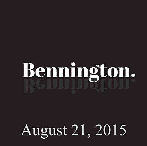 Bennington, Tony Hale and Jack Tempchin, August 21, 2015 audiobook cover art