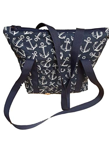 Handmad Damen Handtasche, Milow, Umhängetasche, Tasche, Anker, Maritim