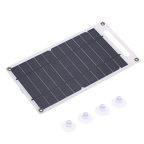 Lixada Solar oplader, draagbare oplader op zonne-energie, smart mobiele telefoons en andere USB-apparaten voor mobiele telefoon, outdoor, camping, klimmen en wandelen