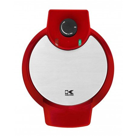 Kalorik Heart Shaped Waffle Maker, WM 42583 R, Make Perfect Heart Shaped Waffles For Breakfast Lunch and Dinner, Red