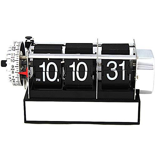 Reloj Despertador de Mesa Flip Estilo Antiguo Retro