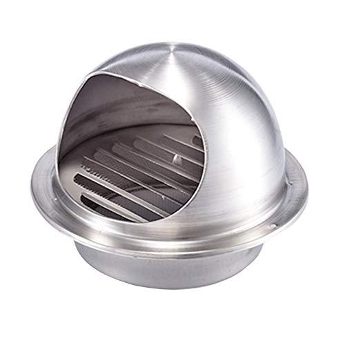 Rejilla de ventilación/Escape Grille, de Acero de extracción 100/120/150/200/250 mm, extracción de la Pared Exterior de ventilación Cap, la ventilación del Aire del Ventilador Inoxidable