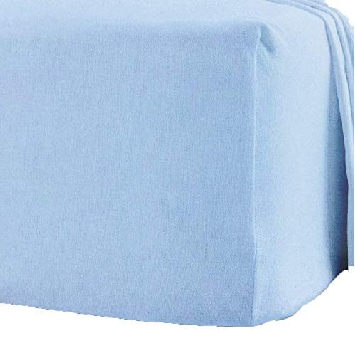 Queens Land Home 100% Brushed Cotton Thermal Flannelette Extra Deep 16'...