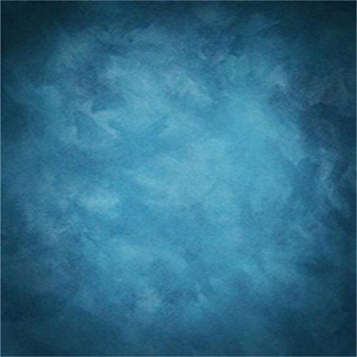 YongFoto 2x2m Vinilo Fondos Fotograficos Abstracto Azul Vendimia Grunge Sólido Textura Pared Fondos para Fotografia Fiesta Niños Boby Boda Adulto Retrato Personal Estudio Fotográfico Accesorios