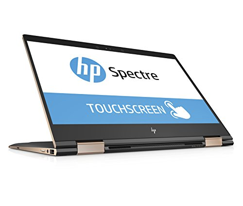 HP 2QF54EA Spectre x360 13-ae047ng (Touchdisplay 13,3 Zoll) convertible Laptop (Intel Core i7-8550U, 1TB SSD, 16GB RAM, Intel UHD Graphics, Windows 10 Home) grau/kupfer