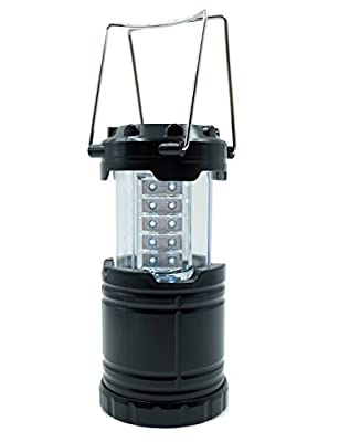 Camping LED Lantern Light Ultra Bright Collapsible 30 LED Suitable for:Outdoor Camping,adventures,Hiking,Indoor Family Emergencies, Hurricanes, Outages,Fishing,Lightweight,Water Resistant,Parent